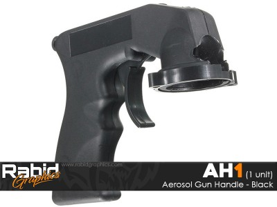 Aerosol Gun Handle - Black