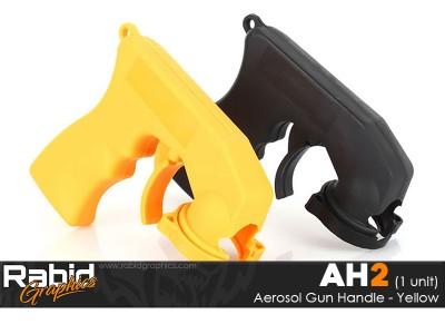 Aerosol Gun Handle - Yellow