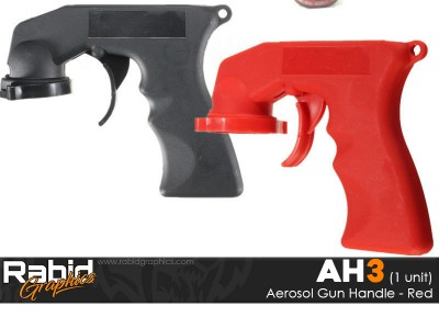 Aerosol Gun Handle - Red