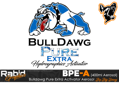 400ml Aerosol Bulldawg Pure Extra Hydrographics Activator