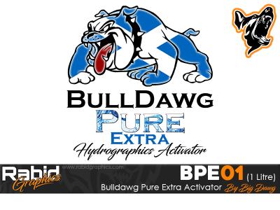1 Litre Bulldog Pure Extra Hydrographics Activator