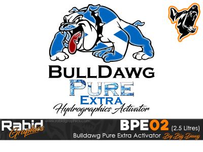 2.5 Litres Bulldog Pure Extra Hydrographics Activator