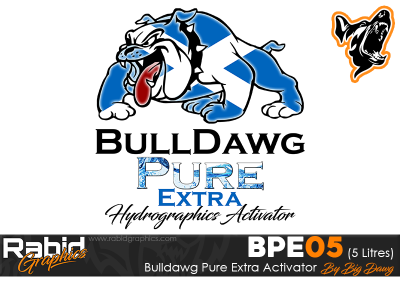 5 Litres Bulldog Pure Extra Hydrographics Activator