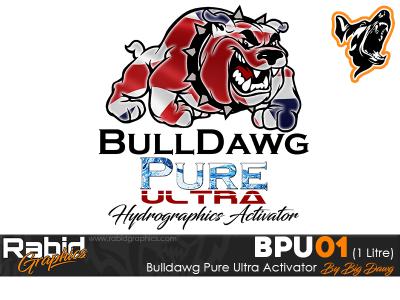 1 Litre Bulldog Pure Ultra Hydrographics Activator