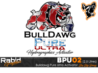2.5 Litres Bulldog Pure Ultra Hydrographics Activator