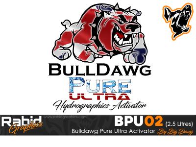 2.5 Litres Bulldog Pure Ultra Hydrographics Activator