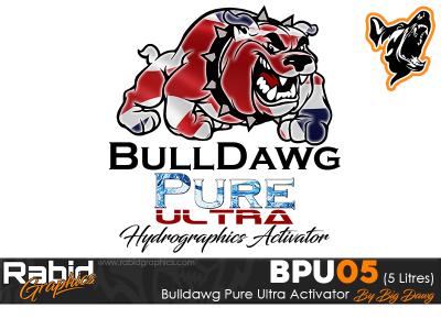 5 Litres Bulldog Pure Ultra Hydrographics Activator