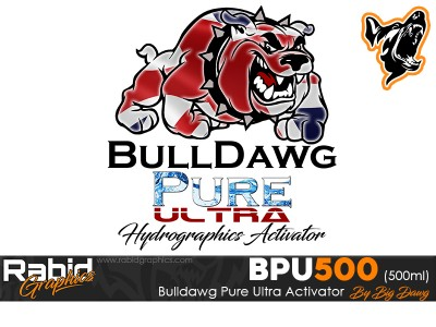 500ml Bulldog Pure Ultra Hydrographics Activator