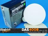Indasa Rhynostick Discs - 400 Grit - Box of 100