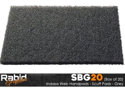 Indasa Web Handpads - Grey