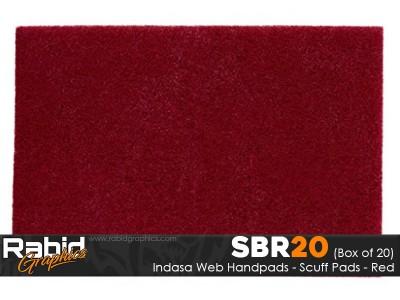 Indasa Web Handpads - Red