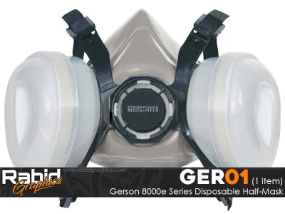 Gerson 8000e Series Disposable Half-Mask