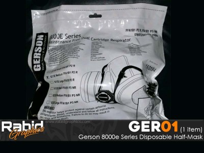 Gerson 8000e Series Disposable Half-Mask