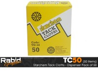Starchem Tack Cloths - Dispenser Pack of 50