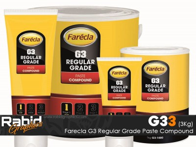 Farecla G3 Regular Grade Paste Compound (3 Kilo)