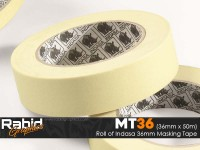 "Indasa 36mm 1 1/2"" Masking Tape (Roll)"