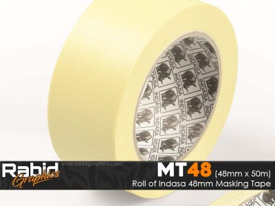 "Indasa 48mm 2"" Masking Tape (Roll)"