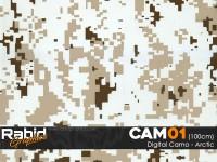 Digital Camo - Arctic (100cm)