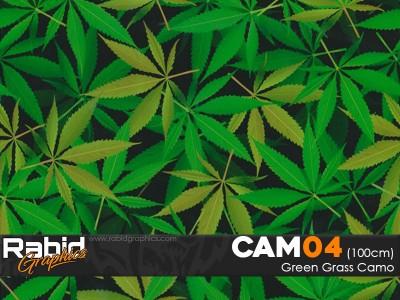 Green Grass Camo (100cm)