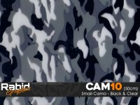 Small Camo - Black & White (50cm)