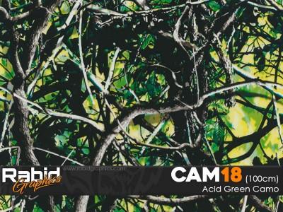 Acid Green Camo (100cm)