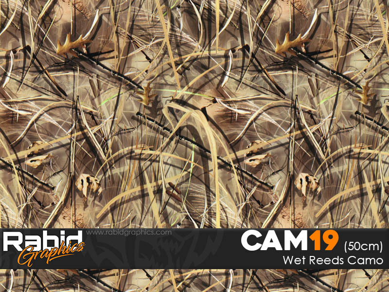 Wet Reeds Camo (50cm)