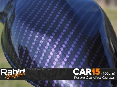 Purple Candied Carbon (100cm)