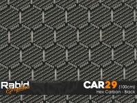 Hex Carbon - Black (100cm)