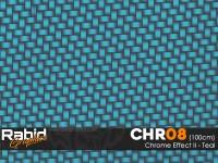 Chrome Effect II - Teal (100cm)