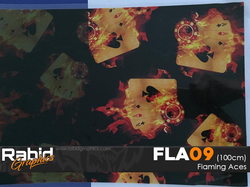 Flaming Aces (100cm)