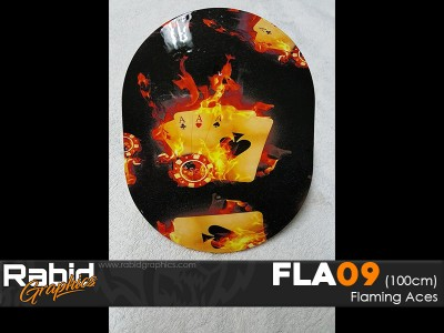 Flaming Aces (100cm)