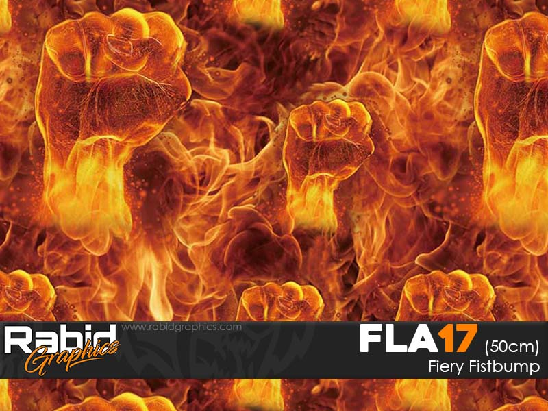 Firey Fistbump (50cm)