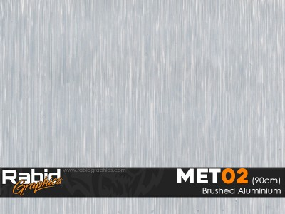Brushed Aluminium (90cm)