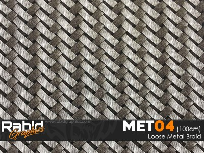 Loose Metal Braid (100cm)