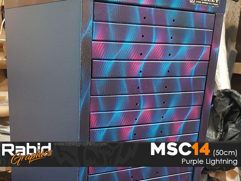 Purple Ribbon (50cm)