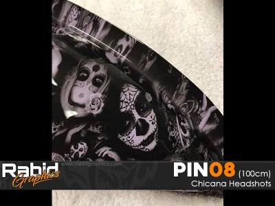 Chicana Headshots (100cm)