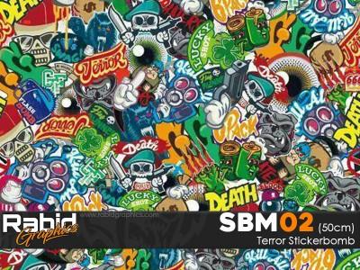 Terror Stickerbomb (50cm)