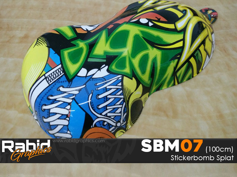 Stickerbomb Splat (100cm)