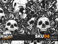 Skulls & Roses (100cm)