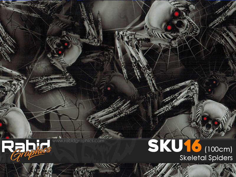Skeletal Spiders (100cm)