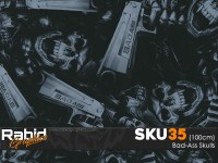 Bad-Ass Skulls (100cm)