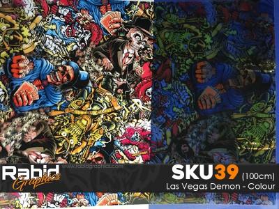 Las Vegas Demon - Colour (100cm)