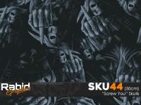 Screw You Skulls (50cm)