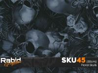 Floral Skulls (50cm)