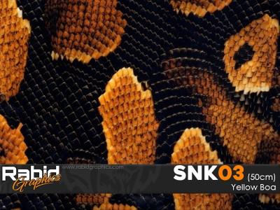 Yellow Boa (50cm)