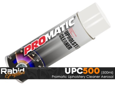 Promatic Upholstery Cleaner Aerosol (500ml)