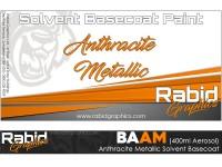 Anthracite Metallic Solvent Basecoat Aerosol (400ml)