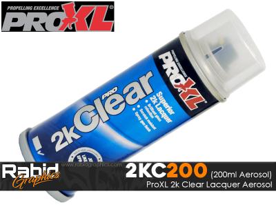 ProXL 2K Clear Lacquer Aerosol (200ml)