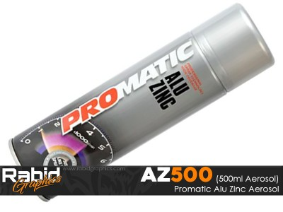 ProMATIC Aerosol Alu Zinc (500ml)