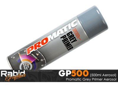 ProMATIC Aerosol Grey Primer (500ml)